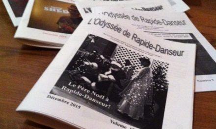 L'Odyssée de Rapide-Danseur ne verra pas 2016