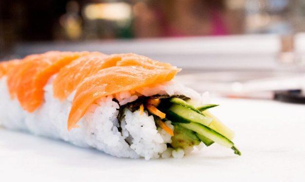 Des sushis frais sur mon chemin!