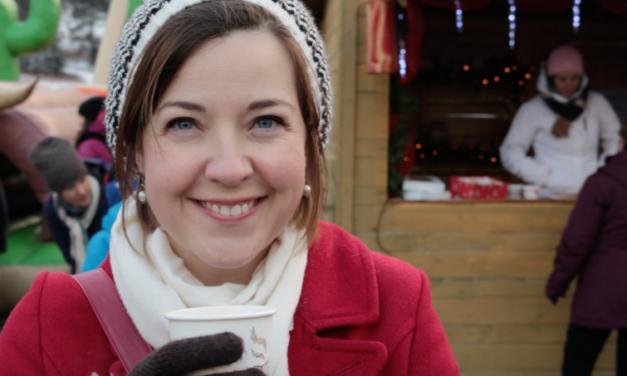 Mon moment favori dans l'année: Le marché de Noël de mon village!